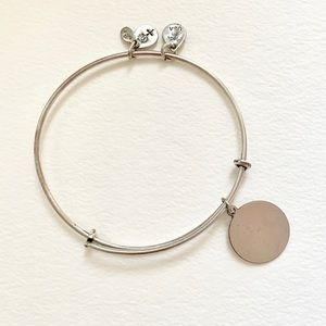 "Alex and Ani Jewelry - Alex and Ani ""K"" Initial Bracelet in Silver"